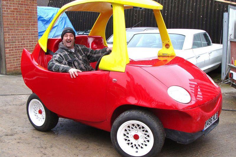 Little Tikes Auto Rijdt Echt Bandenspotter