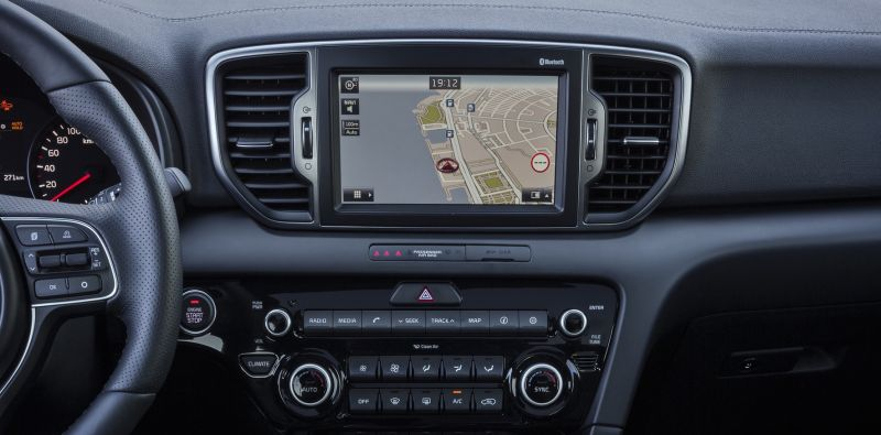 Interieur kia sportage bandenspotter for Interieur kia sportage