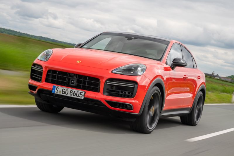 Porsche Cayenne Coupé review