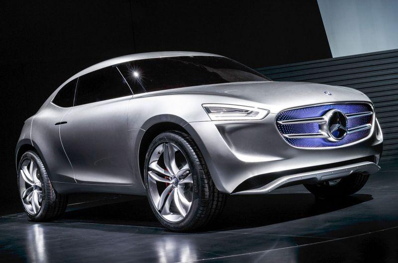 Mercedes G Code Concept Bandenspotter
