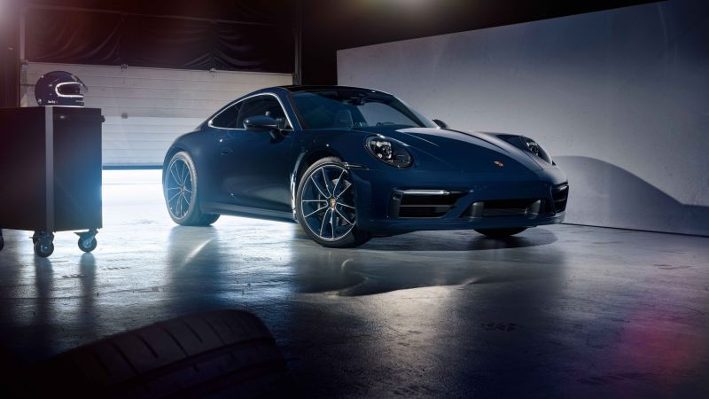 Porsche 911 Jacky Ickx Bandenspotter